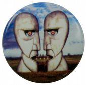 Pink Floyd - 'Division Bell' Button Badge
